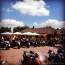 Amazing biker cafe that we came across,. Had to stop for lunch!