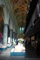It's not a church! It's been converted into a library!